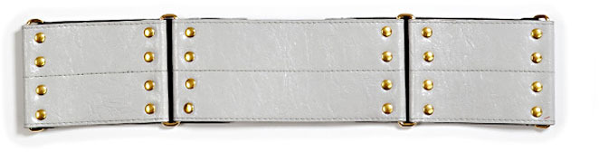Elegantly Waisted Frankie Belt in Charcoal