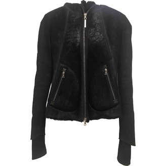 Isaac Sellam Black Leather Jackets
