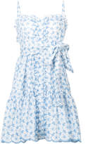 Lisa Marie Fernandez cornflower eyelet ruffle dress