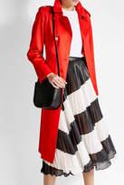 Valextra Twist 5 Leather Shoulder Bag