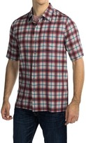 Nat Nast Austin Shirt - Silk-Cotton, Short Sleeve (For Men)