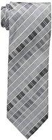 Geoffrey Beene Men's Big-Tall Stripe Wonders Extra Long Tie