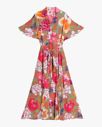 By Ti Mo Summer Maxi Shirt Dress
