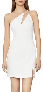 BCBGMAXAZRIA One-Shoulder Cocktail Dress