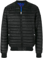 Versace short padded jacket