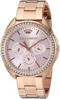 Juicy Couture Women's 'Capri' Quartz Gold Automatic Watch(Model: 1901480)