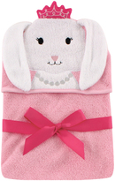 Hudson Baby Princess Bunny Animal Hooded Towel