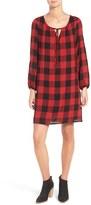 Madewell Signal Buffalo Check Tunic Dress
