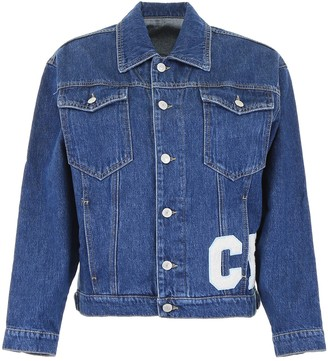 Chiara Ferragni Patch Motif Denim Jacket