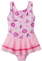 Jacques Moret Toddler Girl Glitter Ballerina Skirtall Leotard