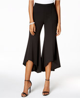 MSK Tulip-Hem Cropped Flared Pants