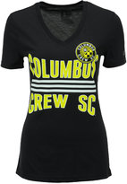 adidas Women's Columbus Crew SC Middle Stripes T-Shirt