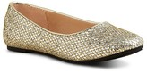 Ivanka Trump Girls' Metallic Lily Ballet Flats - Little Kid, Big Kid