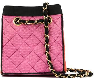 Chanel Pre-Owned 1990 quilted tote