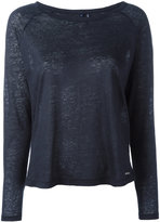 Woolrich long sleeve top - women - Linen/Flax - XS