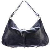 Jimmy Choo Frame Leather Hobo