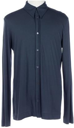 Dolce & Gabbana Navy Synthetic Shirts