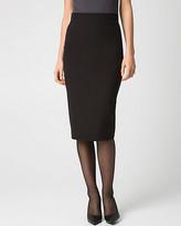 Le Château Woven High Waist Midi Skirt