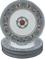 One Kings Lane Vintage Wedgwood Florentine Enameled Plates, S/8
