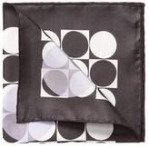 """Tom Ford Geometric Print Pocket Square, 15.5"""" x 15.5"""""""