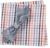 Original Penguin Resy Solid Bow Tie & Pocket Square Set