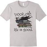 Book Cat Life Is Good T Shirt