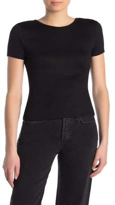 Rag & Bone Rib Knit Surplice Back Shirt