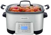 Crock Pot Crock-Pot® 5-in-1 Multi-Cooker - Stainless Steel SCCPMC600-S