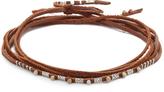Chan Luu Leather Choker Necklace