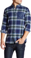Wesc Ola Plaid Patched Relaxed Fit Flannel Shirt