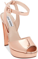 Steve Madden Women's Amber Two-Piece Platform Sandals