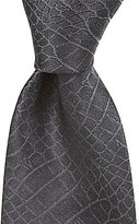 Murano Alligator Solid Narrow Silk Tie