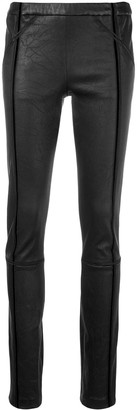 Haider Ackermann Slim-Fit Biker Leggings