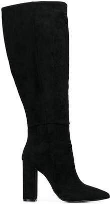 Buffalo David Bitton pointed knee-length boots