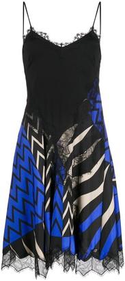 Emilio Pucci x Koche Lupa-print slip dress