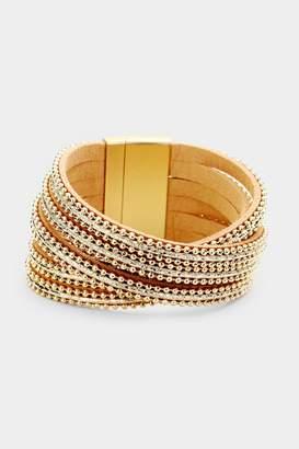 Embellish 6-Strand Magnetic Bracelet