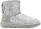 UGG glitter slip-on boots