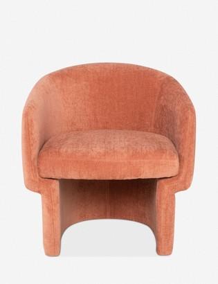 Lulu & Georgia Pomona Accent Chair, Nectarine