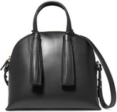 Loeffler Randall Dome Leather Satchel - Black