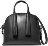 Loeffler Randall Dome Leather Satchel - Black