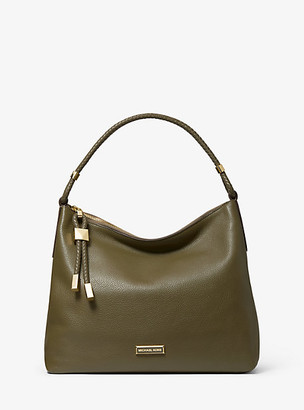 Michael Kors Lexington Medium Pebbled Leather Shoulder Bag