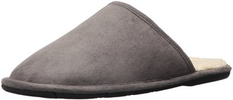 L.B. Evans Men's Pacey Scuff Slipper Gray 8 M US