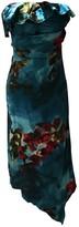 Ungaro Blue Silk Dress for Women