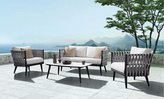 Indo Soul Crown 4 Piece Lounge Setting