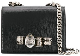 Alexander McQueen Jewelled Satchel Bag
