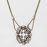 BaubleBar SUGARFIX by Crystal Pendant Necklace - Lt Gray/Gold