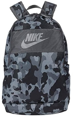 Nike Elemental Backpack All Over Print 2.0 (Iron Grey/Iron Grey/White) Backpack Bags