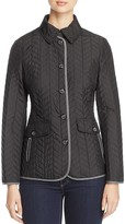 Basler Chevron Quilted Jacket