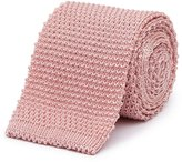 Reiss Celter - Knitted Silk Blend Tie in Pink, Mens