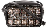 Rochas Crystal Embellished Crossbody Bag